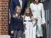 Letizia Ortiz de Princesa a Reina comunión Princesa de Asturias