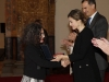 Reina Letizia look black & white en Sevilla: entregando la Medalla
