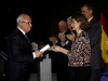 Reina Letizia look con chaqueta étnica de Zara: entrega del diploma