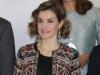 Reina Letizia look con chaqueta étnica de Zara: portada