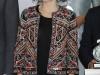 Reina Letizia look con chaqueta étnica de Zara: estilismo