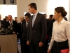 Reina Letizia look con culottes en ARCO 2016: camisa blanca