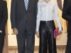 Reina Letizia look con culottes en ARCO 2016: posando con el Rey Felipe