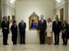 Reina Letizia look de Hugo Boss en el Museo del Prado: posando con la Reina de la Granada