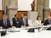 Reina Letizia look de Hugo Boss en el Museo del Prado: durante la reunión