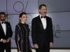 Reina Letizia look glam en los Premios Mariano de Cavia 2016: a su llegada con el Rey