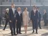 Reina Letizia looks viaje a Portugal 2016: Look de Felipe Varela autoridades