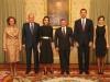 Reina Letizia y Rania de Jordania visita a Madrid: cena en el Palacio del Pardo