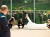 Reportajes de fotos para bodas divertidos y diferentes: haciendo deporte