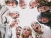 Reportajes de fotos para bodas divertidos y diferentes: imagen desde abajo