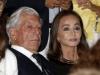 Reyes inauguración temporada Teatro Real 2015: Isabel Preysler y Mario Vargas Llosa sentados