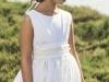 Rubio Kids Comunión 2016: niña modelo blanco bordado