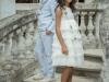 Rubio Kids Comunión 2017: niñas y niños volantes y azul