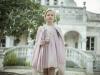 Rubio Kids Comunión 2017: niñas vestido con abrigo rosa