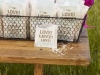 Saquitos de arroz para bodas: bolsas de papel