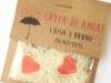 Saquitos de arroz para bodas: bolsas de papel y plástico
