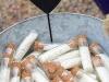 Saquitos de arroz para bodas: tubos de ensayo