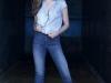 Sara Carbonero campaña Salsa Push Up Wonder Jeans: camisa