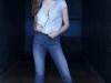 Sara Carbonero campaña Salsa Push Up Wonder Jeans: camisa