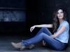 Sara Carbonero campaña Salsa Push Up Wonder Jeans: sentada