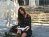 Sara Carbonero disfrutando de Madrid: portada