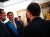 Sara Carbonero look en la Moncloa: hablando con Mariano Rajoy e Iker Casillas