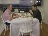 Sara Carbonero y Casillas en el programa de Bertín Osborne: comiendo