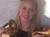 Shakira biografía: Instagram con sus Grammys