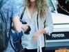 Shakira y Sasha viaje a Nueva York: acudiendo a un acto sonriendo