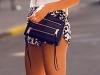 Shorts estampados: look black & white