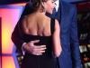 Sofia Vergara look estreno Star Wars: posando con Joe Manganiello peinado