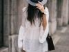 Sombreros en primavera: gris
