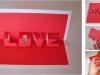 Tarjetas de San Valentín: LOVE