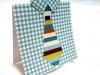 Tarjetas para el día del padre: con camisa y corbata
