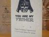 Tarjetas para el día del padre: Guerra de las Galaxias