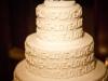 Tartas de boda personalizadas: blanca