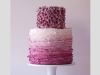 Tartas de boda personalizadas: lila
