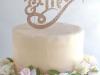 Tartas de boda personalizadas: Mr. & Mrs,