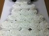Tartas de boda personalizadas: vestido de novia