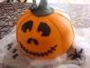 Tartas de Halloween: Tarta de calabaza para niños