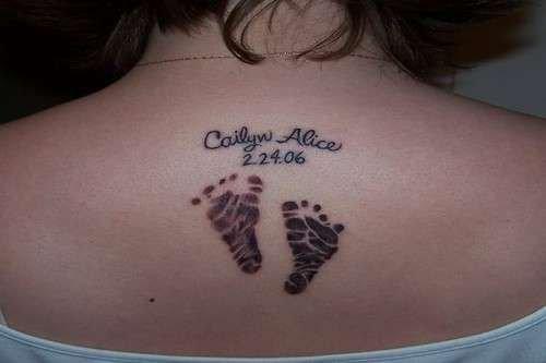 Tatuajes Para Mujeres En La Espalda Con Nombres Tatuajes