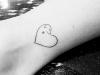 Tatuajes mascotas: perro corazón