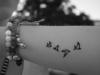 Tatuajes mini y chic: pájaro antebrazo