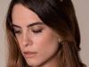 Tocados y diademas para novias 2018 Mibúh: modelo de hojas doradas