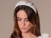 Tocados y diademas para novias 2018 Mibúh: modelo pájaros y corazones