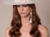 Tocados y diademas para novias 2018 Mibúh: modelo sombrero lazo