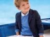 Trajes de ceremonia para niños 2017: Mayoral azul