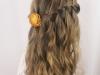 Trenzas para niñas: peinado en cascada