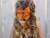 Trenzas para niñas: peinado con lazo