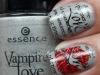 Uñas decoradas San Valentín: labios